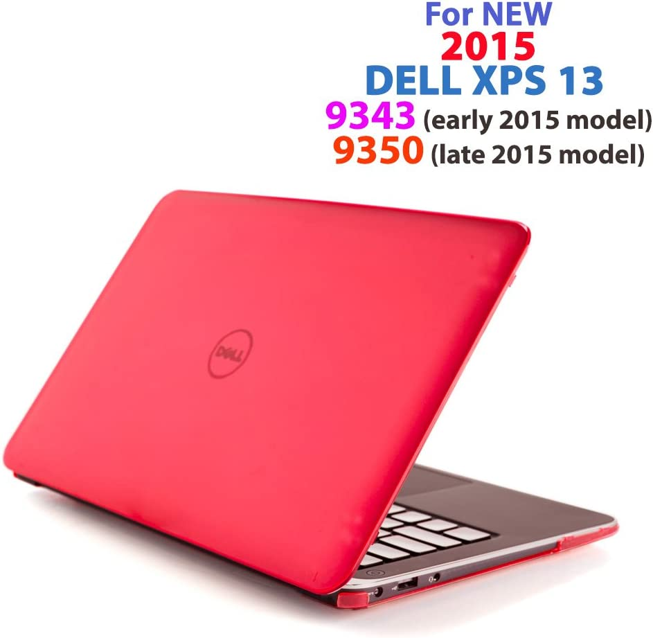 Red iPearl mCover Hard Shell Case for 13.3