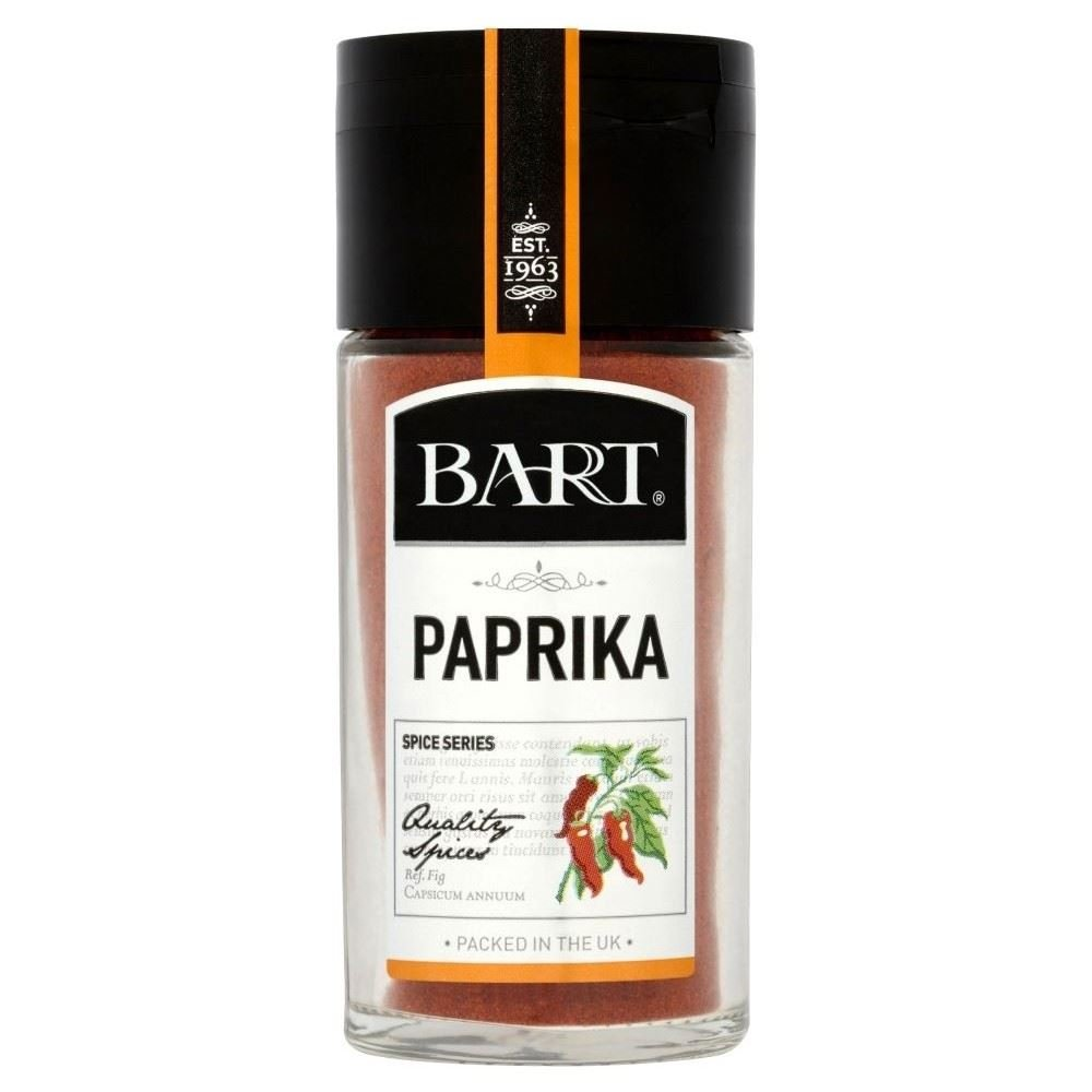 Bart Ground Paprika (48g) - Pack of 2 by Bart