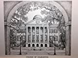 College of Charleston 11''x14'' pen and ink print