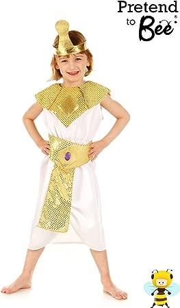Girl - Disfraz de Cleopatra para niña, talla 3-5 años: Amazon.es ...