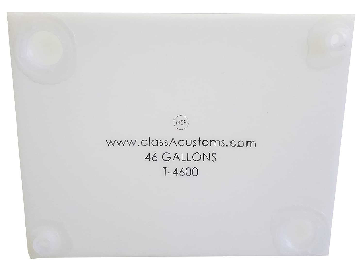 Class A Customs 46 Gallon Water Holding Tank NSF Approved T-4600