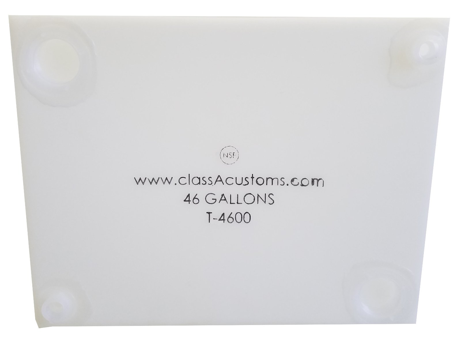 Class A Customs 46 Gallon Water Holding Tank NSF Approved T-4600 by Class A Customs