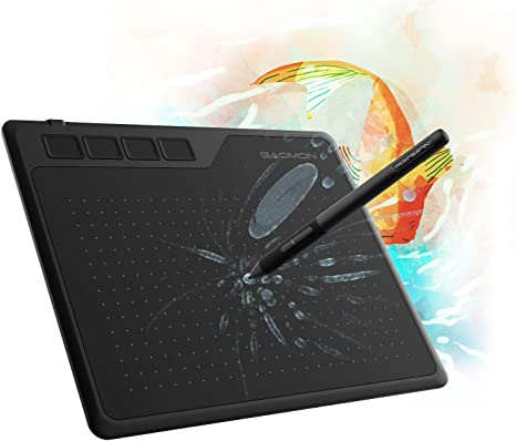 Navitech Black Graphics Tablet Case//Bag Compatible with The GAOMON S620 6.5 x 4 Inches Graphics Tablet