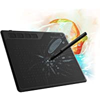 GAOMON S620 6.5 x 4 Inches Pen Tablet 8192 Levels Pressure Graphic Tablet with 4 Express Keys and Battery-Free Pen for…
