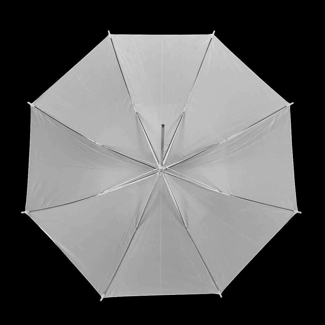 Amazon.com: eDealMax 86cm Diámetro plegable luz Suave de estudio Fotografía Paraguas Blanco: Electronics