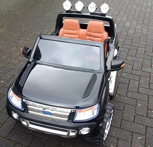 Ford Ranger Vollausstattung Fernbedienung 12V 2 Motoren EVA-Räder Original Ford-Lizenz