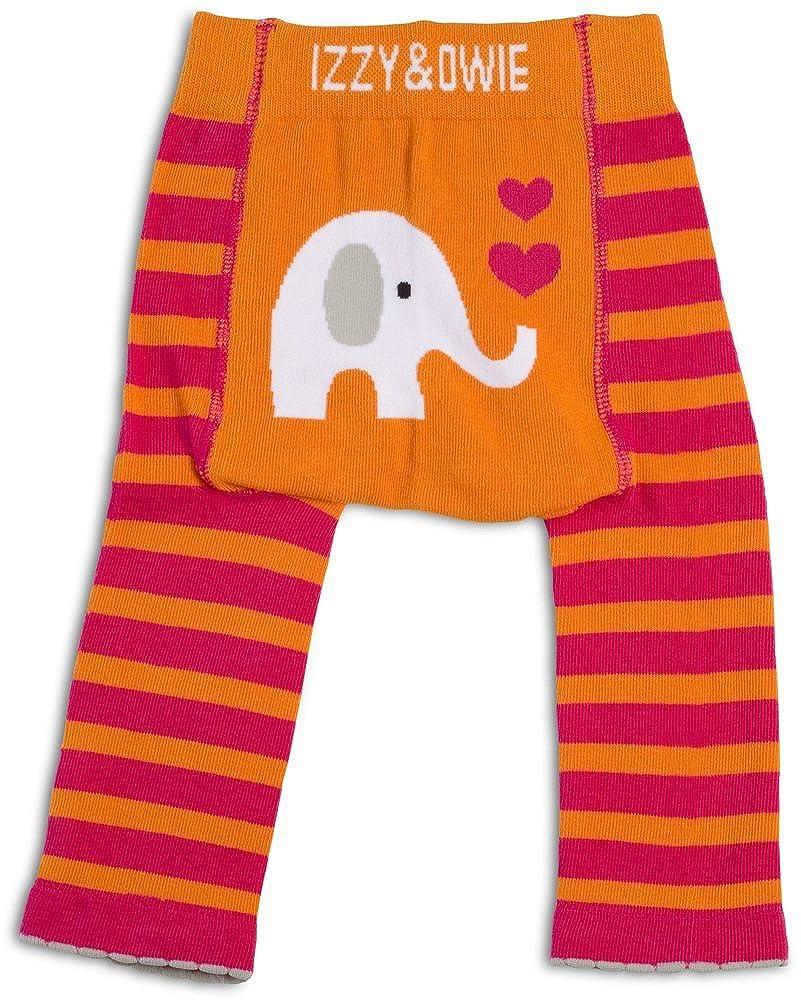 6-12 Month Orange Izzy /& Owie Baby Girl Leggings Elephant
