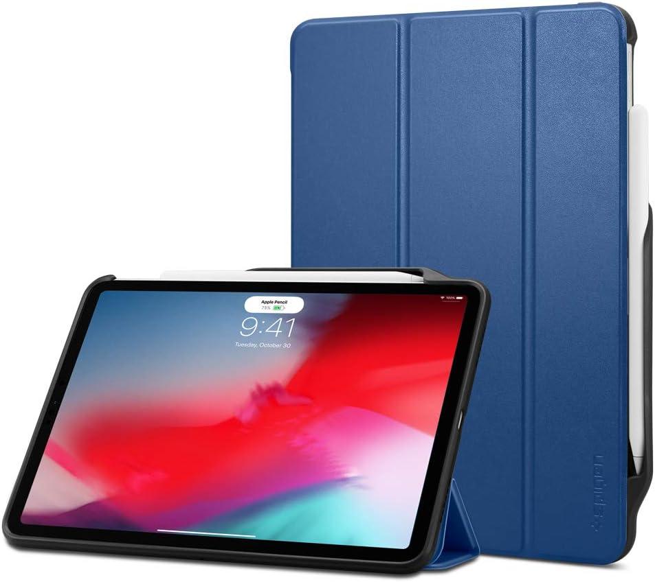 Spigen Smart Fold 2 Designed for Apple iPad Pro 12.9 Case 2018 Blue