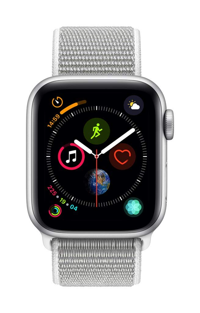 Apple Watch Series 4 Reloj Inteligente Plata OLED GPS (satélite): Amazon.es: Electrónica