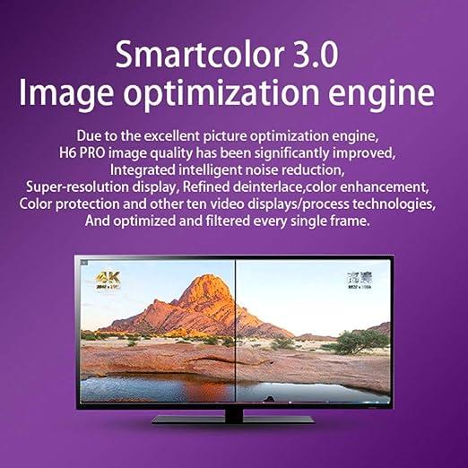 LTLZCY Android TV Box [4G + 64G], Box Android 9.0 TV Box Quad- Core 64- bit, Apoya Bluetooth 4.1/WLAN 2.4G/5.8G /6K HD/Smart TV Box Android Set-Top-Box,4g+32g: Amazon.es: Hogar