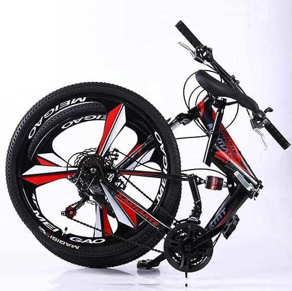 YOUSR Bicicleta De Carretera De Ciudad Plegable De 24 Pulgadas ...