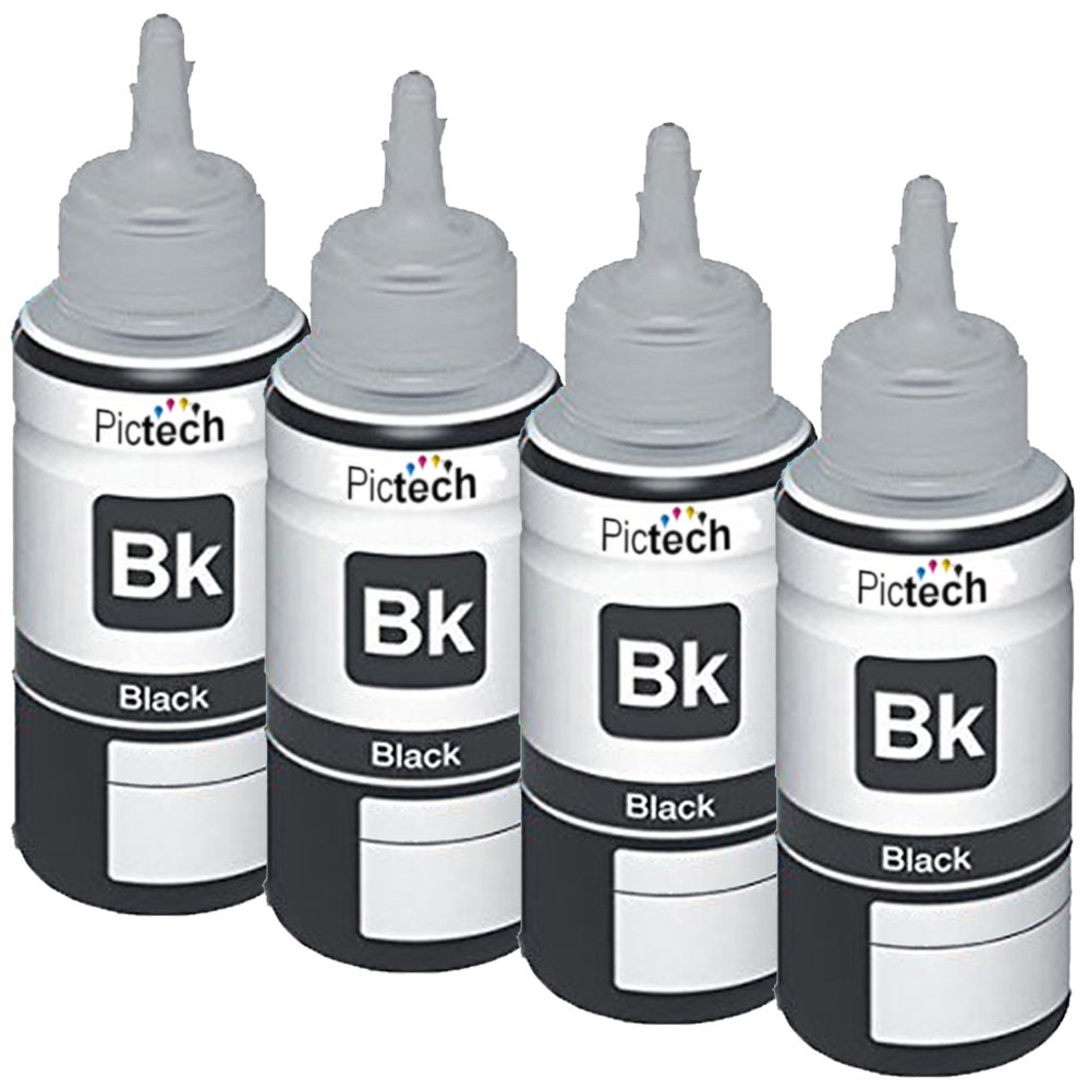Pictech Compatible Refill Ink Bottles Replacement For Tinta Epson L100 L200 L210 L220 L300 L310 L360 Electronics