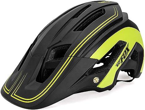 OMGPFR Casco De Bicicleta para Adultos Resistente A Los Golpes ...