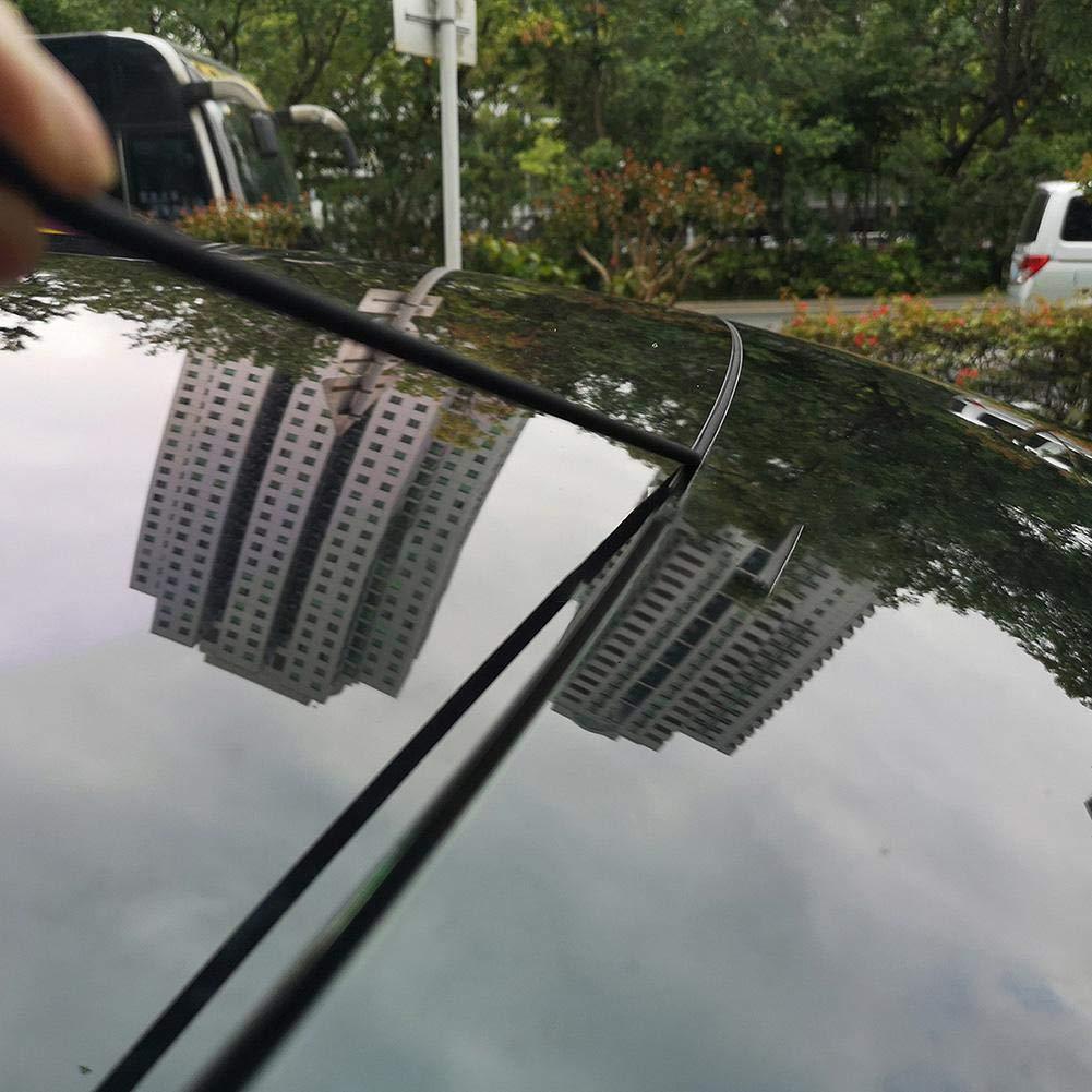 somedays Protector de Puerta de Coche de Caucho Seal Strip Wind Guard Burlete Rubber Anti-Dust Ruido Silicone Seal Adecuado para Tesla Tesla Modelo 3