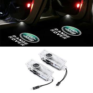 HUAYIN 4 Pieces Car Door Ghost Shadow light Logo Door Lighting Entry Light Projection Light