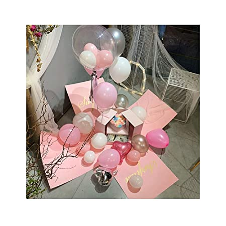 TONGBOSHI Globo, diseño de Escena de cumpleaños de Caja ...