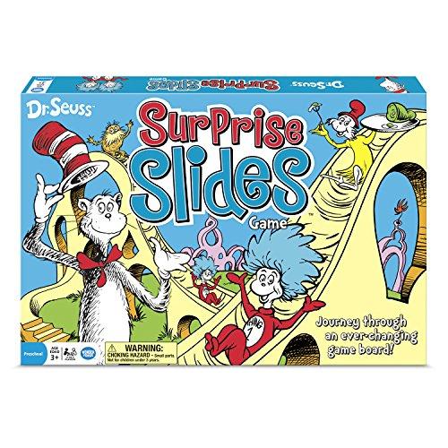 The Wonder Forge Dr. Seuss Surprise Slides Board Game -