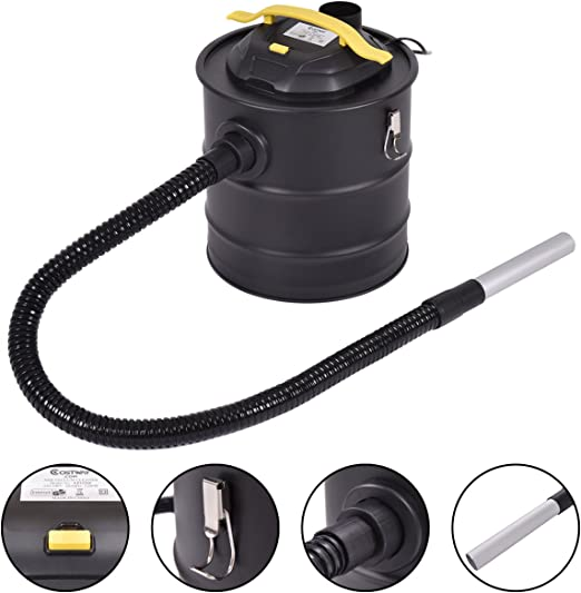 costway – Aspiradora para chimeneas (filtro de cenizas aspirador ...