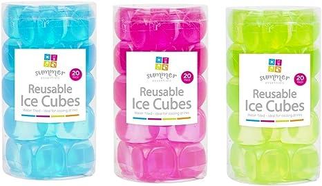 Home Fusion The Company - Cubitos de Hielo Reutilizables de ...
