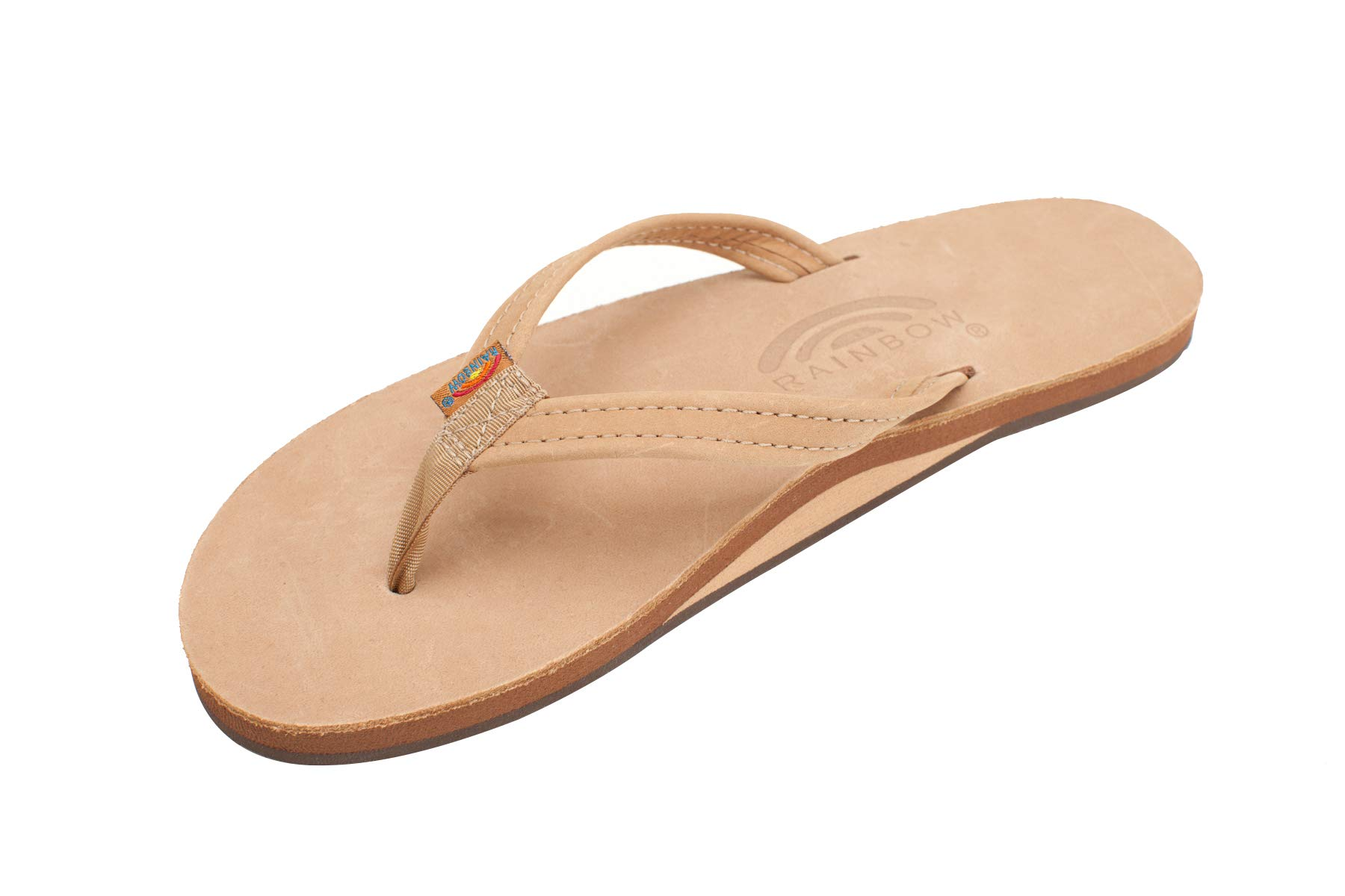 Rainbow Sandals Women's Narrow Strap Womens, Sierra Brown, Large (7.5 - 8.5) by Rainbow Sandals