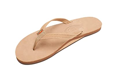 e102371fd9c1 Amazon.com  Rainbow Sandals Women s Single Layer Premier Leather ...