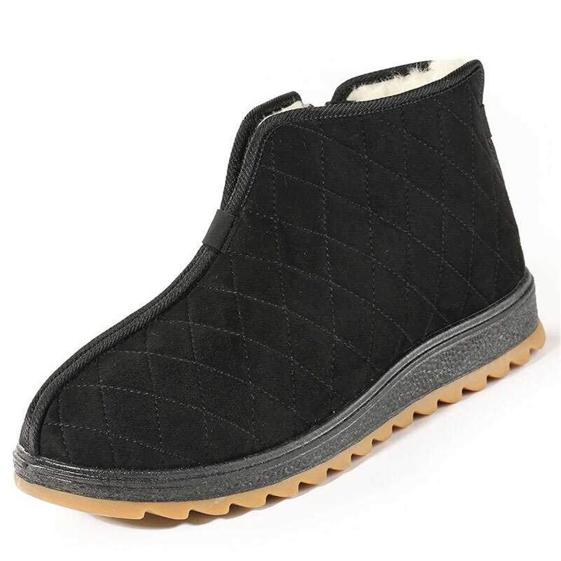 A CAI&HONG-Domestics GHH Vieux Beijing Chaussures en Tissu Hommes Chaussures en Coton Plus Velours