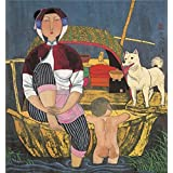 Canvas Prints Of Oil Painting ' Hu Yongkai,On The Boat,21th Century ' , 24 x 26 inch / 61 x 65 cm , High Quality Polyster Canvas Is For Gifts And Home Office, Kids Room And Study Room Decoration, pop