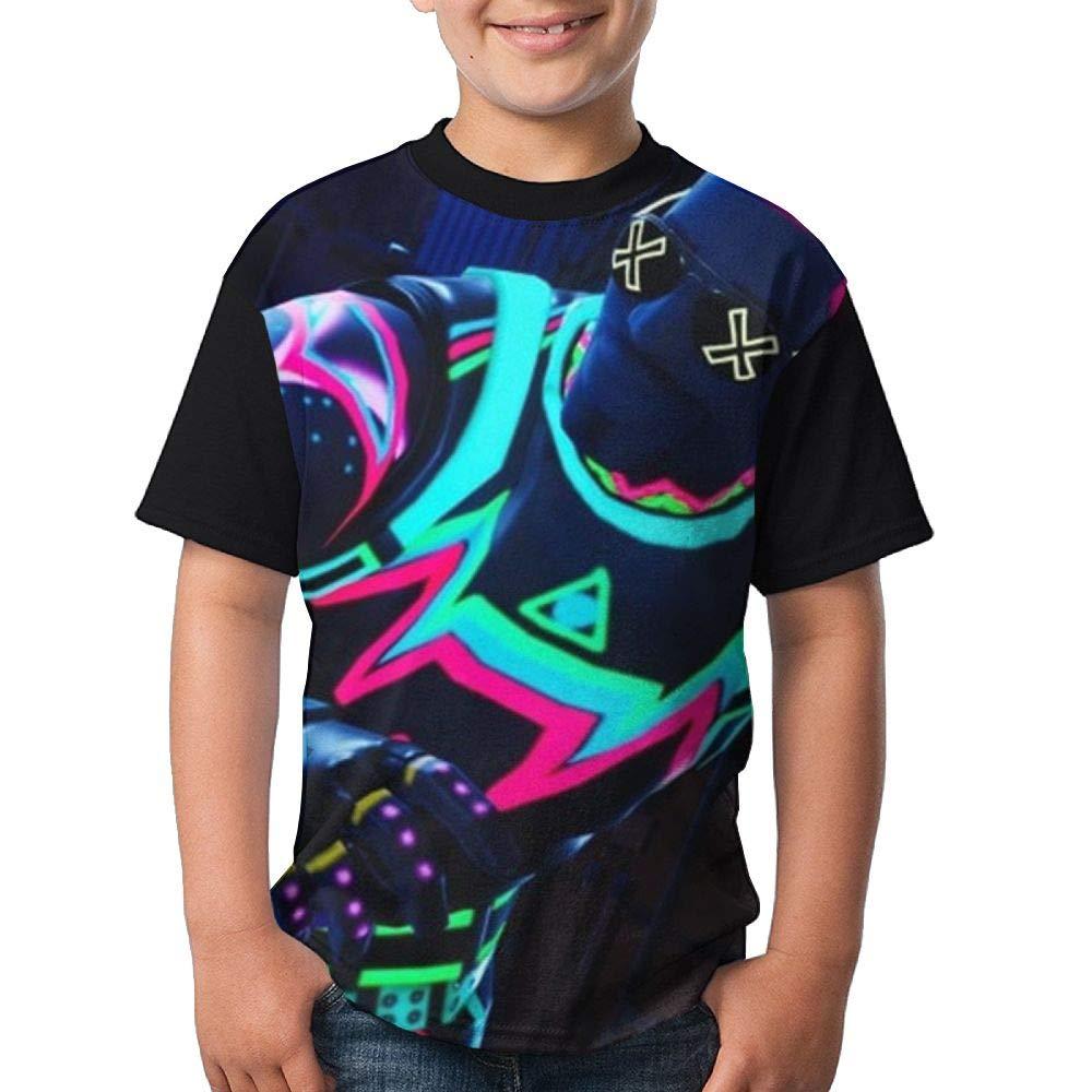 Fortnite Child Boy's Girl Short Sleeve Crew Neck Funny Tank Tshirts XS