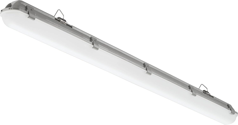 Lithonia Lighting Xvml l48 3500lm MVOLT 50 K 80 Cri LED 4足Vaport Tight、3500ルーメン、DLC準拠、5000 K B077Y79LQ6