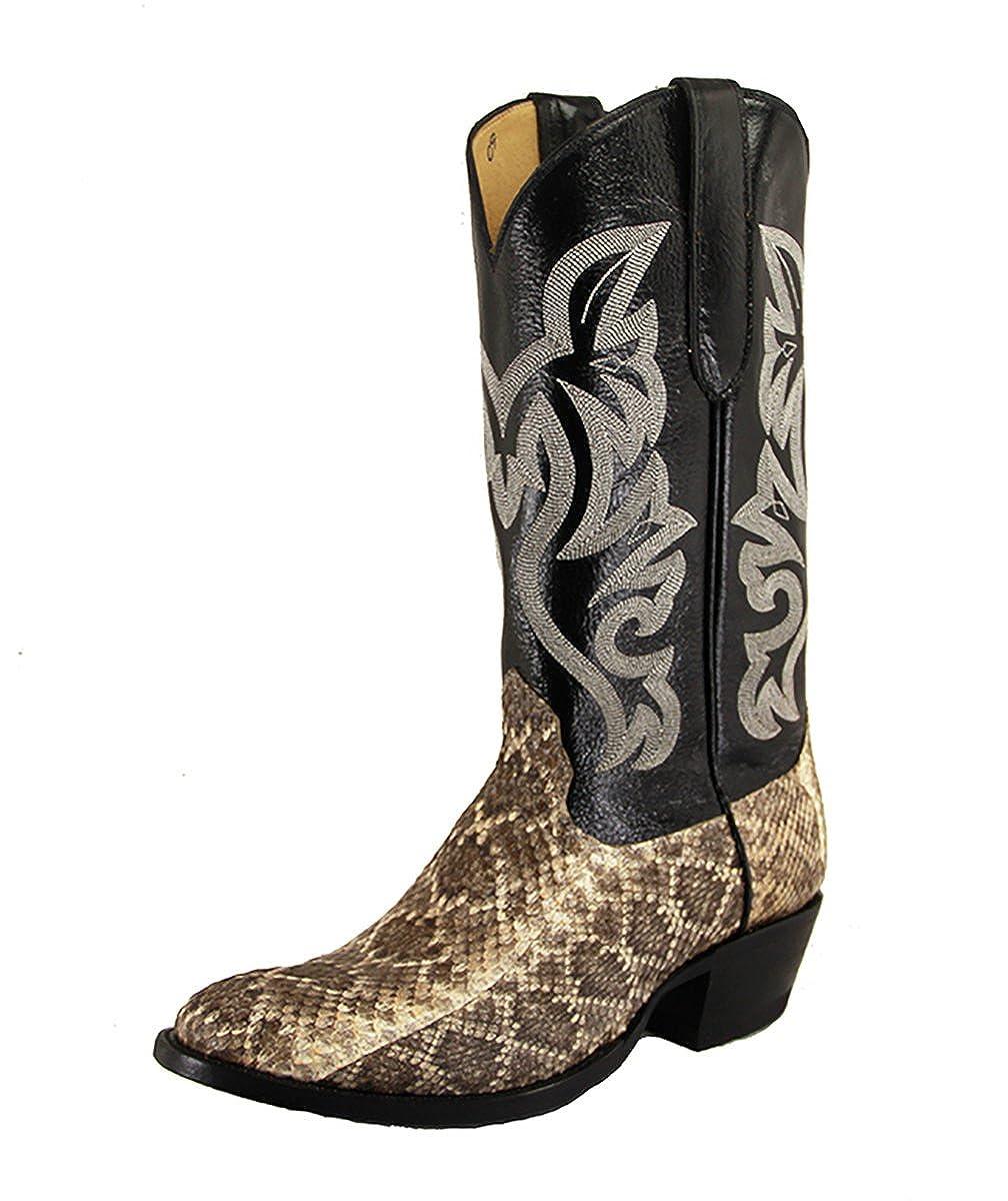 135d1e2dc5d Cowtown Men's Diamond Back Rattlesnake Cowby Boots