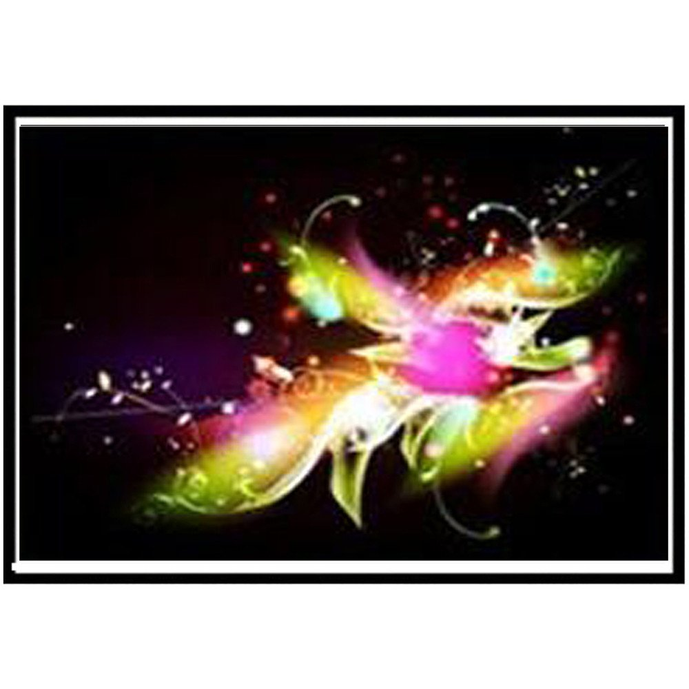 Fanyunhan DIY 5D Round Diamond Rhinestone Pasted Full Embroidery Painting Cross Stitch Home Decor