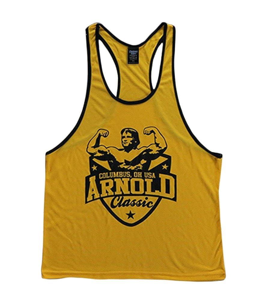 b9d510d8670e1 Arnold Schwarzenegger Classic Mens Stringer Tank Top Holiday presents