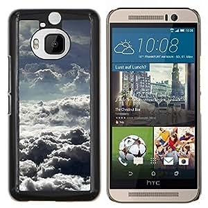 Stuss Case / Funda Carcasa protectora - Nubes de tormenta Dios motivación Sun - HTC One M9+ M9 Plus