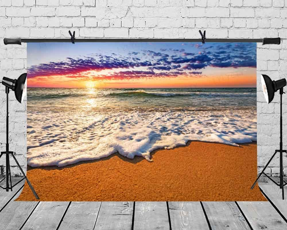 LYLYCTY 7x5ft Natural Landscape Photography Background Wedding Birthday Party Sunset Backdroo Baby Shower Decor Banner Photography Studio Props BJQQLY130