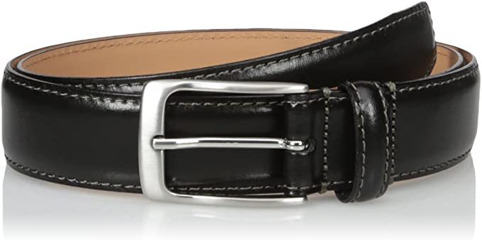 Florsheim Mens Croc Embossed Italian Leather Belt 32mm