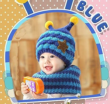 4072bdc72033 SevenPanda Enfants Baby Animal Fox Casquette Manteau Tricot Capuche Cagoule  Hiver en laine tricotés chapeaux bébé