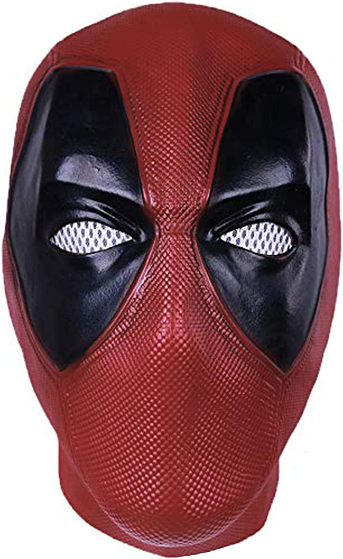 Deadpool 2 Movie Wade Wilson Cosplay Mask Full Adult Headwear Costume Accessory