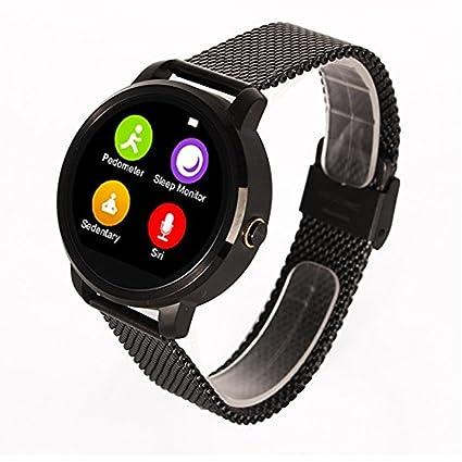 Skye Reker V360 reloj inteligente para Apple Iphone Huawei Android iOS reloj inteligente con Siri función