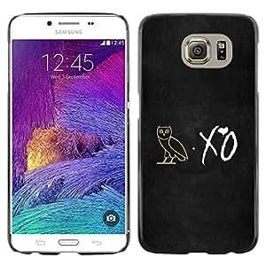 PC/Aluminum Funda Carcasa protectora para Samsung Galaxy S6 SM-G920 XO Night Owl / JUSTGO PHONE PROTECTOR