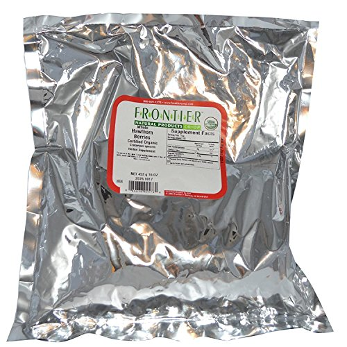 Hawthorn Berries, Whole Frontier Natural Products 1 lbs Bulk