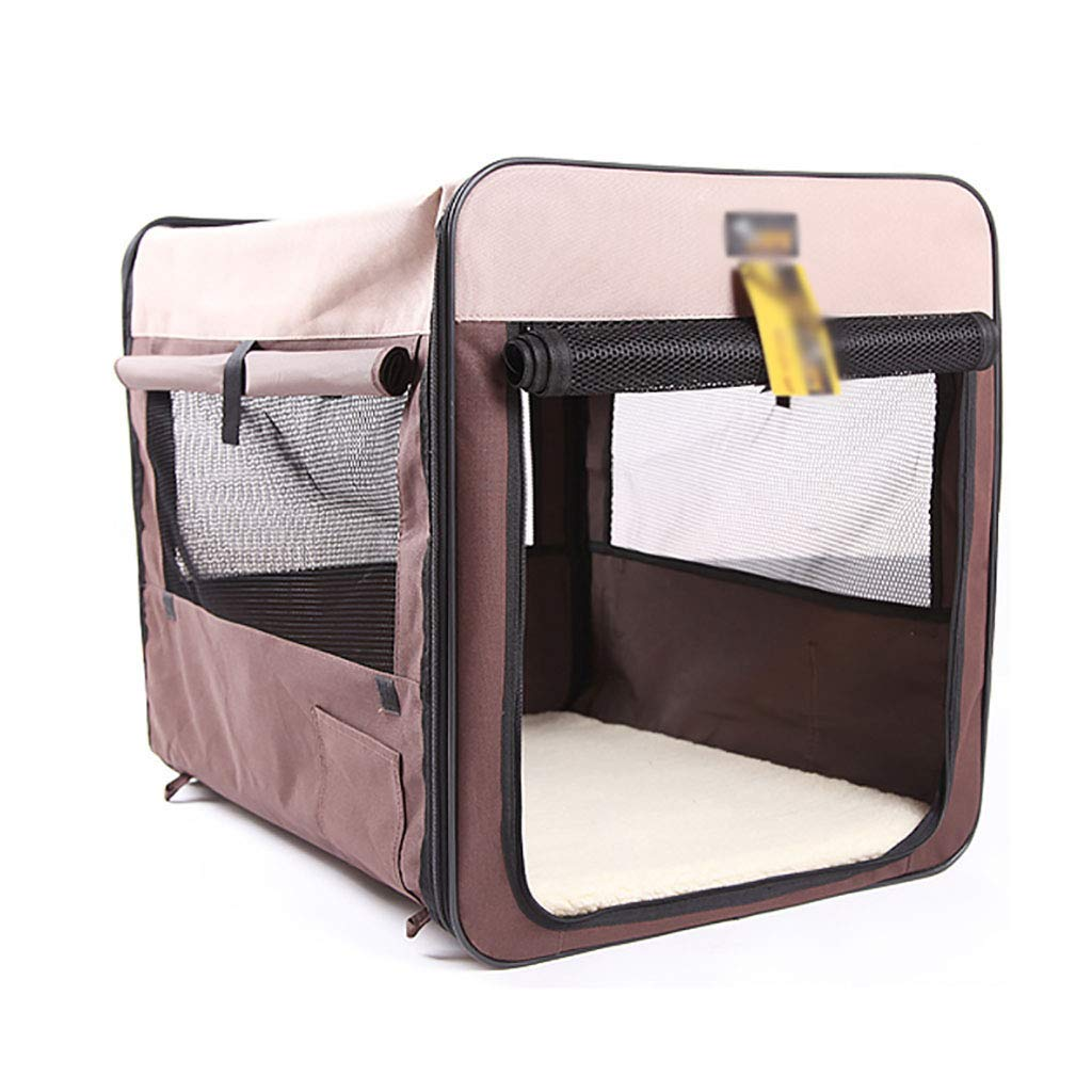 B 825858 B 825858 Pet bag Car bag Safety seats Pet tent Outing pet cage Medium large dogs Anti-dirty Foldable Car trip Outdoor play Safe convenient (color   B, Size   82  58  58)