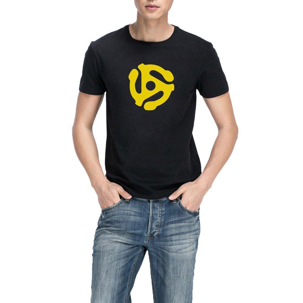 Loo Show S Dj 45 Rpm Adapter Casual T Shirts Tee