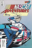 AUTOGRAPHED 1991 Mark Martin #6 Valvoline Racing NASCAR ADVENTURES COMIC BOOK (Vortex Comics Issue #7) Vintage Signed NASCAR Full Comic Book with COA from Trackside Autographs