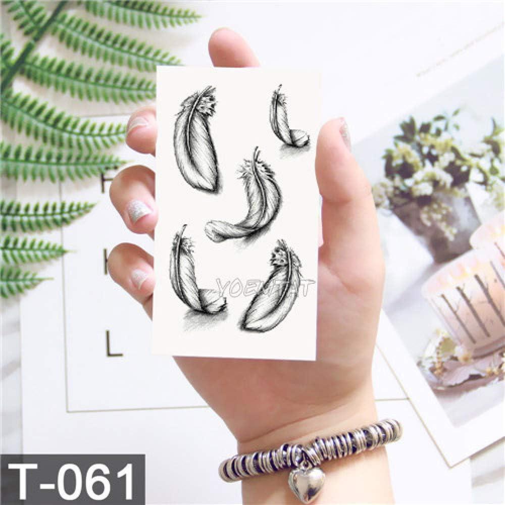 adgkitb 5piezas Lindo Tatuaje de diseño Temporal Tatuaje para ...