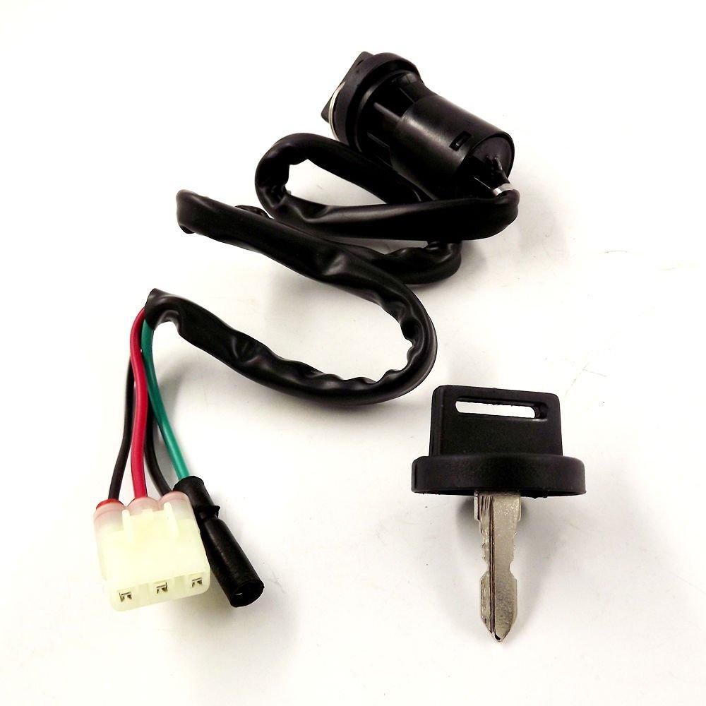NEW Ignition Key Switch for Honda 1997-2014 TRX250 Recon 2001-2005 TRX250EX
