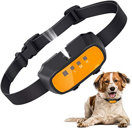 Amazon Com Citronella Spray Bark Collar Automatic Training Bark Collar Rechargeable Citronella Anti Bark Collar For Dogs Small Medium Large No Shock Harmless Waterproof Kitchen Dining