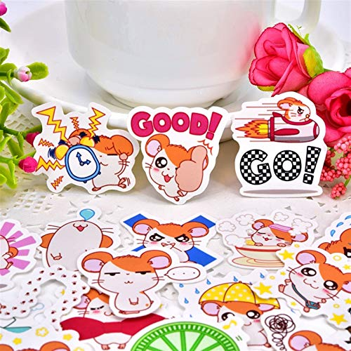 Sticker 40pcs Creative Cute Self-Made Animal Hamtaro Scrapbooking Decorative DIY Craft Photo Albums/Waterproof