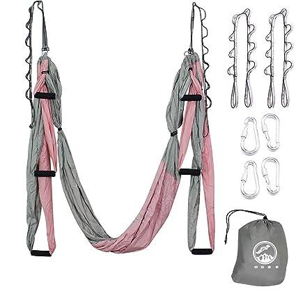 Amazon.com : Outdoor Skye Aerial Yoga Swing - Ultra Strong ...