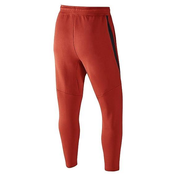 Nike Tech Homme FLC cropped Pant Pantalon de survêtement Homme Tech XL Rojo (Lt b643df