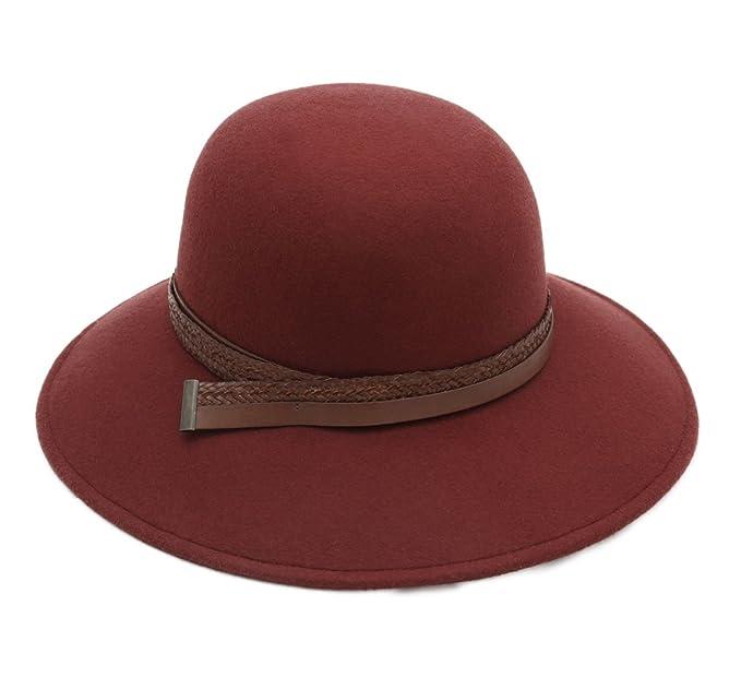 Donde comprar último estilo hermosa y encantadora Marzi - Sombrero Campana - Cloche ala Ancha Mujer Cassi ...